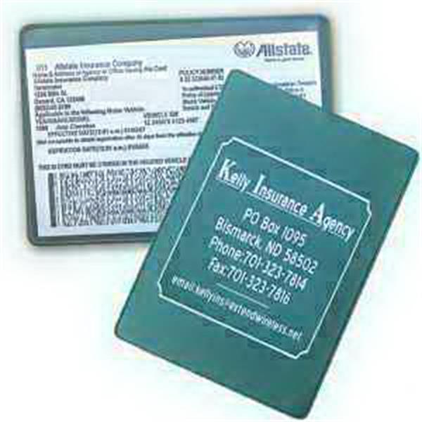 Insurance Card Holder - Translucent