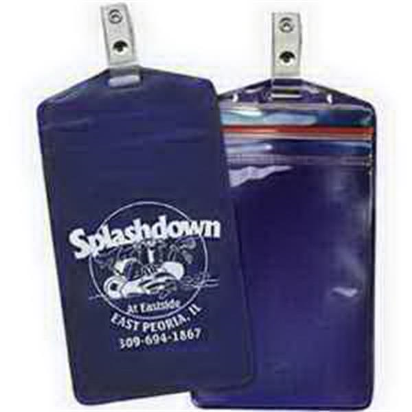 Waterproof Pouch with Strap Clip - Translucent