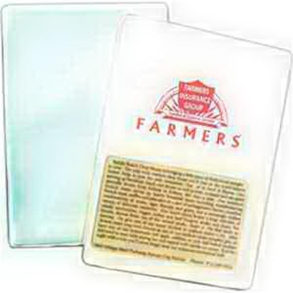 Insurance Card Holder Translucent