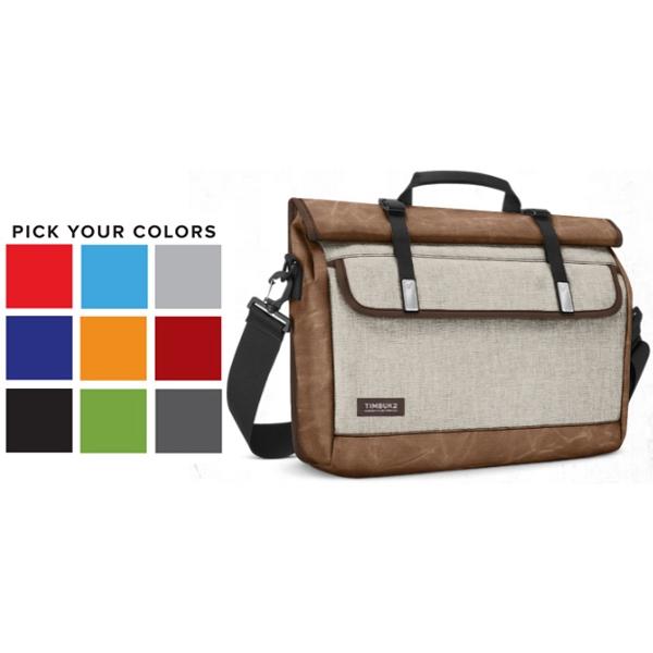 Custom Prospect Messenger Laptop Bag-USA MADE