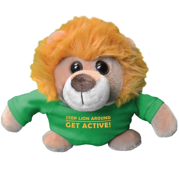 """Chelsea (TM) Plush Roly Poly Friends - Roly Poly Friends is an overall size of 7"""". Includes large t-shirt."""