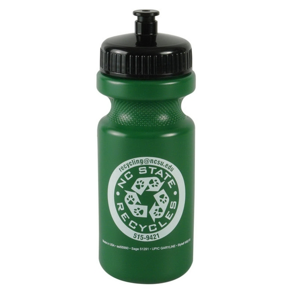 The Eco-Cyclist 22oz Eco-Cycle Bottle
