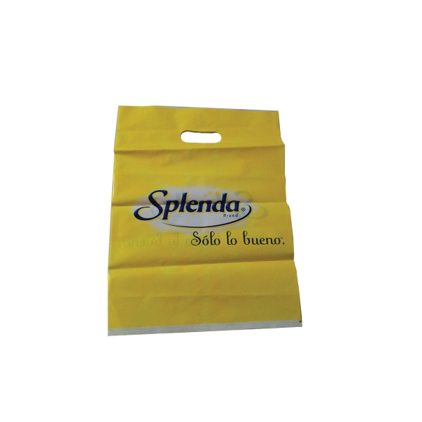 "Merchandise Bags 18"" x 20"" with die cut slot as shown."