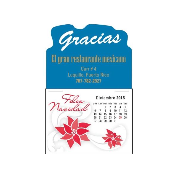 Spanish (13-Month) Calendar - Spanish 13 month calendar pad.
