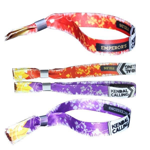Dye Sublimation Frabic Wristband/Woven Wristband