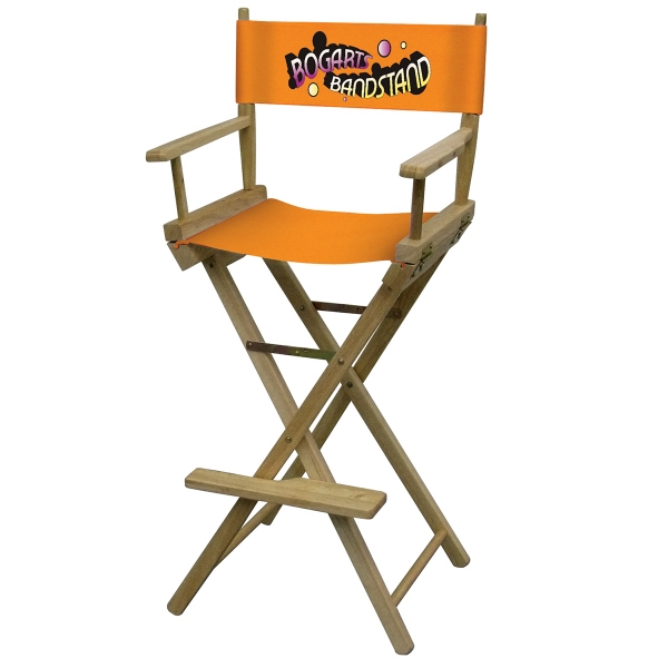 Director Chair Bar Height (Full-Color Thermal Imprint)