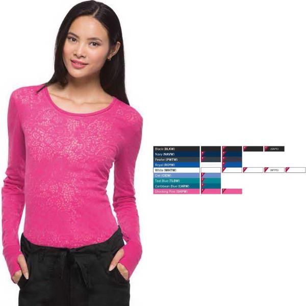 Women's Long Sleeve Underscrub Knit Tee