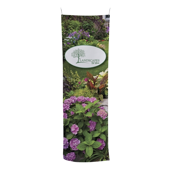 "24""W x 72""H Pipe and Drape Banner Kit"