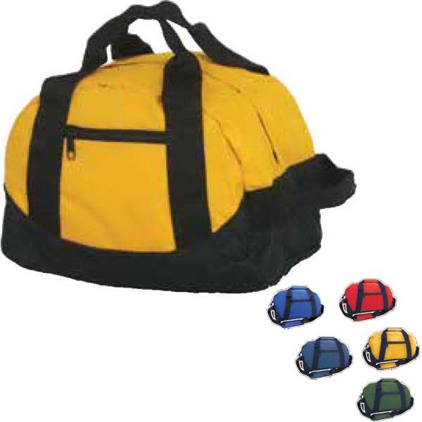 Two Tone Duffle Bag