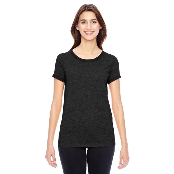 Alternative Ladies' Eco-Mock Twist Ideal Ringer T-Shirt