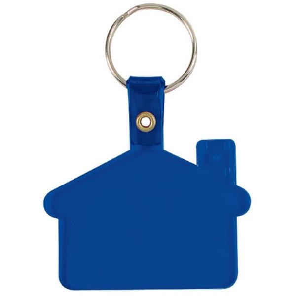 HOUSE SHAPE Flexy key tag