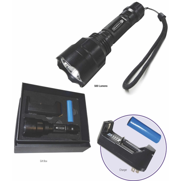 Flashlight with charger