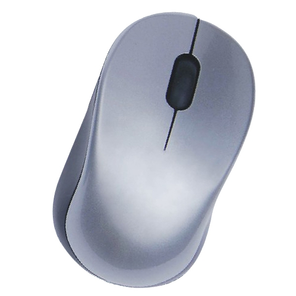 Oval Wireless Optical Mouse w/USB Receiver