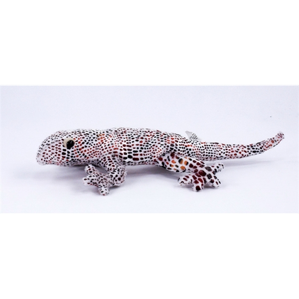 "9"" Printed Lizard with Bandana and One Color Imprint"