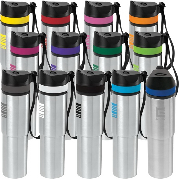 20 oz. Persona™ Tower Vacuum Water Bottle 1