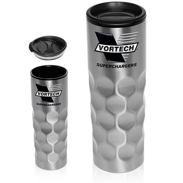 16 oz Stainless Travel Mug with Plastic Inner Liner