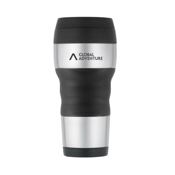 ThermoCafe™ by Thermos Travel Tumbler with Grip - 16 oz.