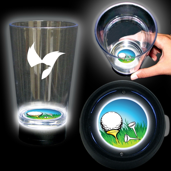Golf Bottom Lit Light Up Cup