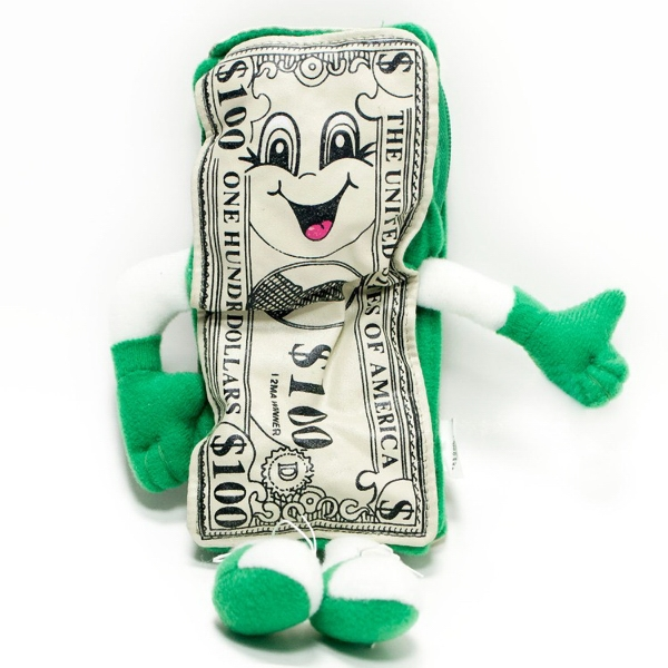 "8"" Money Man Coin Purse"