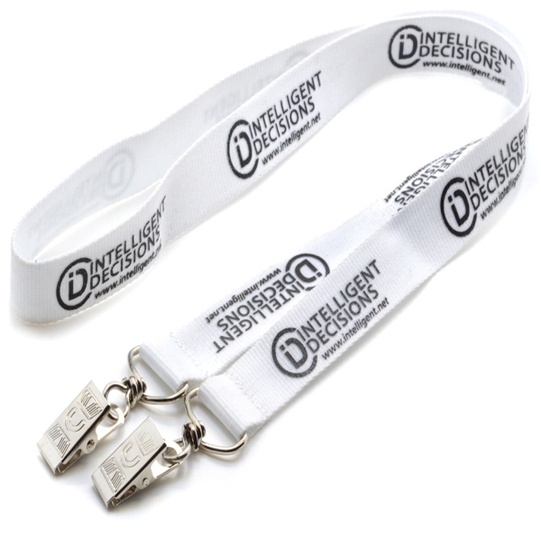 Double Ended Event Polyester Lanyard