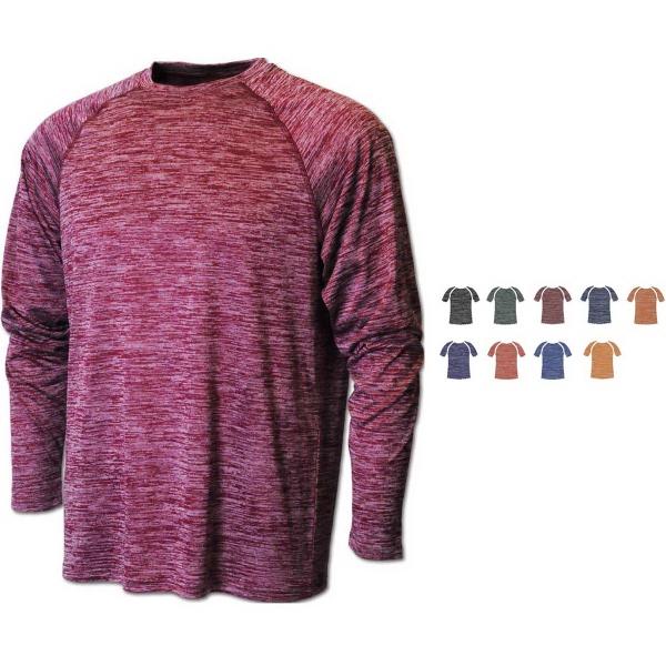 Men's Vintage Heather Dry-Tek™Long Sleeve Shirt