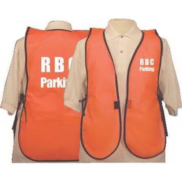 No stripe safety vest