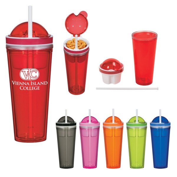 16 oz. Snack Attack Tumbler