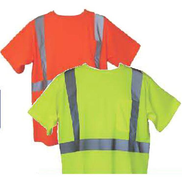 Orange 2XL/3XL Short Sleeve Hi-Viz Safety T-Shirt