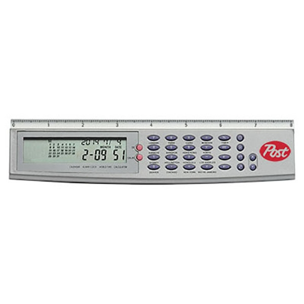 Multi Function 8-inch Ruler Calculator