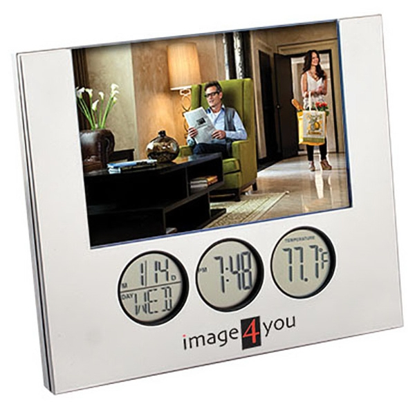 4-inch x 6-inch Multi Function Photo Frame