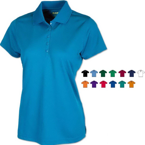 Ladies' Eco Cool-Tek™ Short Sleeve Polo Shirt