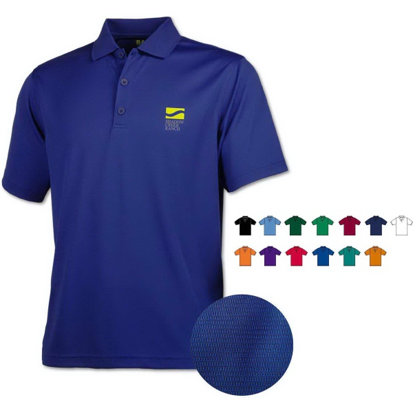 Men's Eco Cool-Tek™ Short Sleeve Polo Shirt