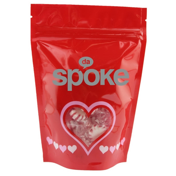 Large Window Bag with Starlite Mints - Valentines Day- Heart
