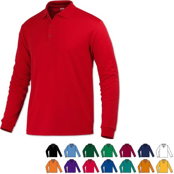 Youth Eco Cool-Tek™ Long Sleeve Polo Shirt