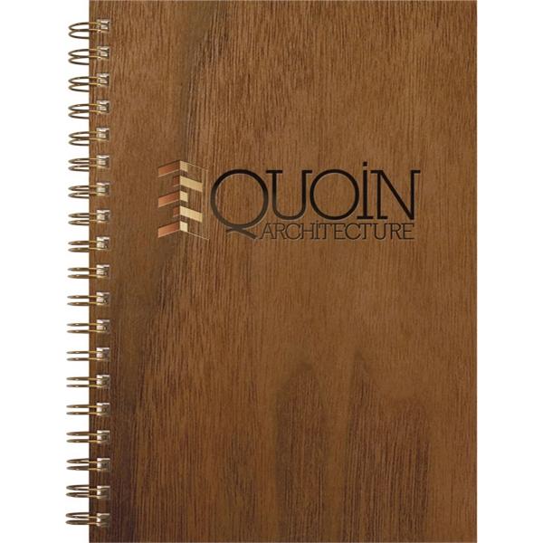 Wood Grain Journals - Medium Note Book