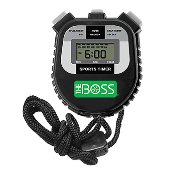 Sport Timer with Sure Grip Case
