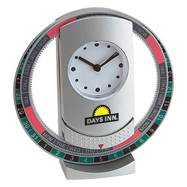 Revolving Calendar Clock