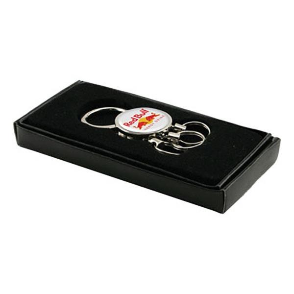 Valet Pull-Apart / Pull-n-Twist Metal Keychain