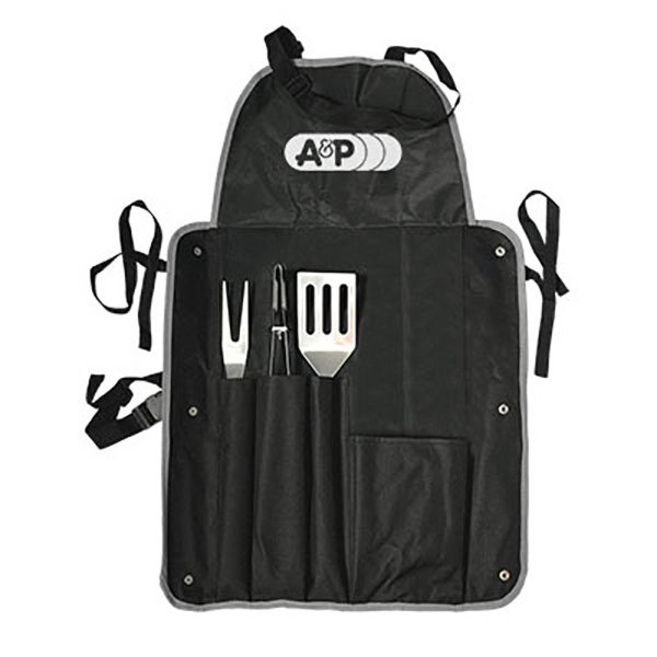 4 Pc. BBQ Apron Set