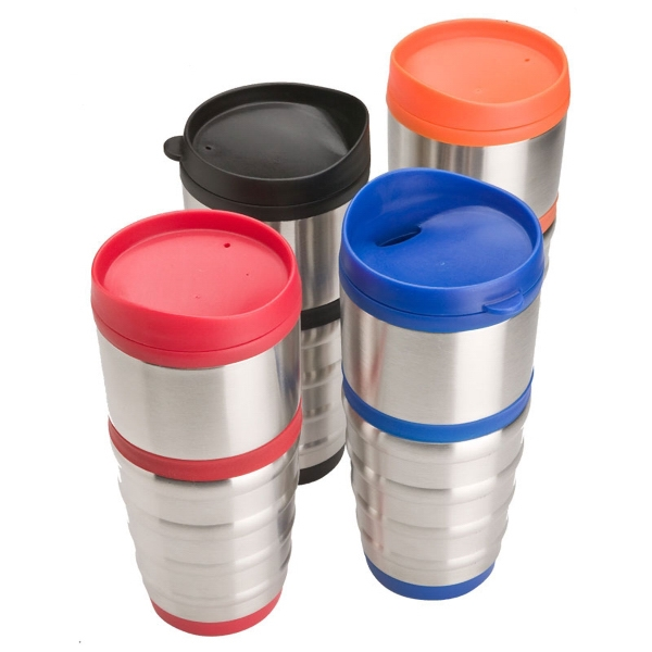 16 oz. Steel & Polypropylene Tumbler 1