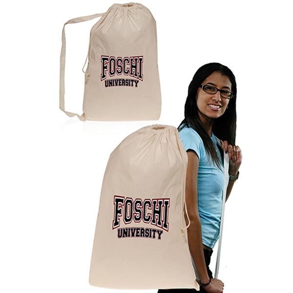 Cotton College Laundry Bag