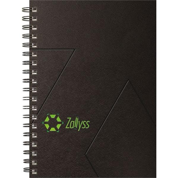 Techno Metallic Journals - Medium Note Book
