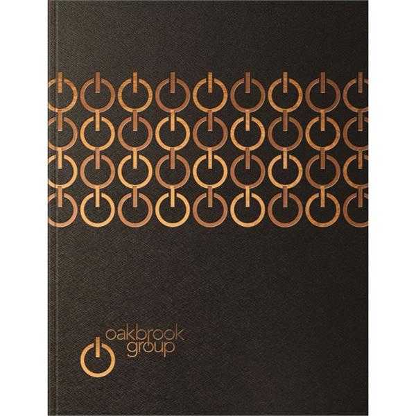 Techno Metallic Flex- Large Note Book