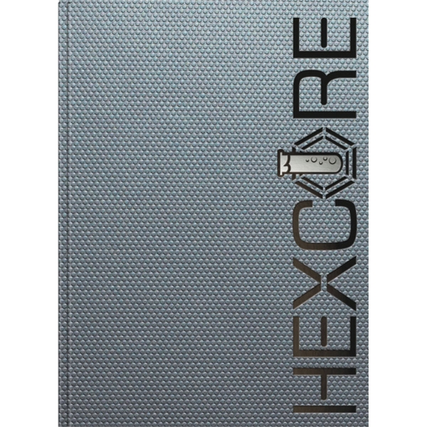 Techno Metallic Flex - Note Pad