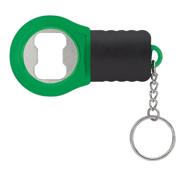 LED bottle opener keyring