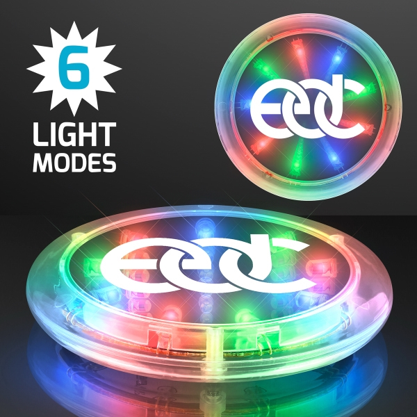 Light-up LED Infinity Tunnel Coaster