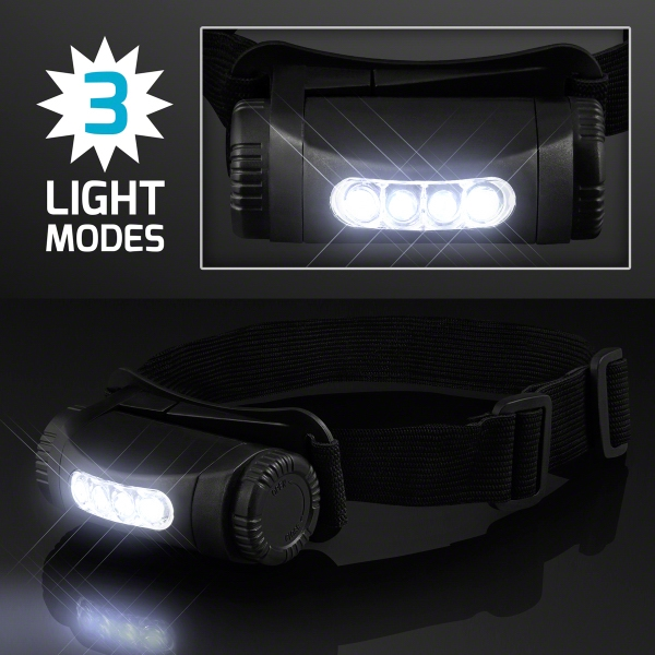 Wearable LED Head Light, Hands Free Lighting