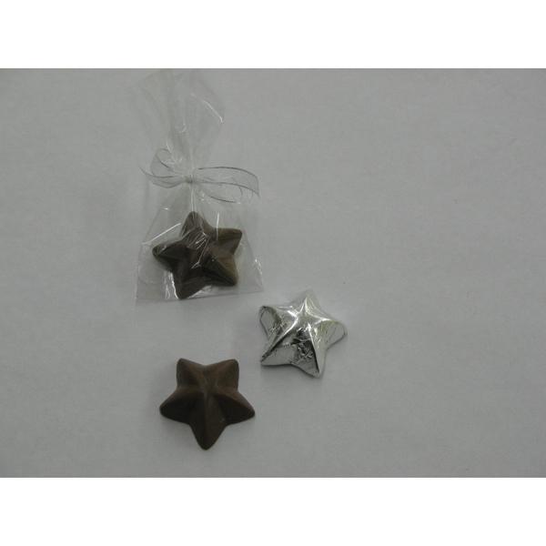 Chocolate Stars Small Kiss