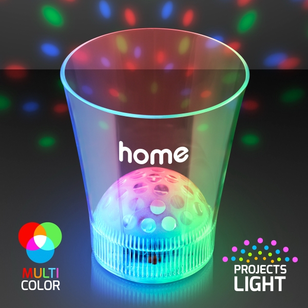 Disco Ball Light Projecting LED Cup
