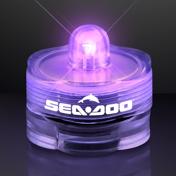 Light Up Purple LED Submersible